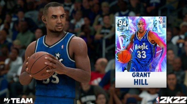 Grant Hill in NBA 2K22 MyTEAM