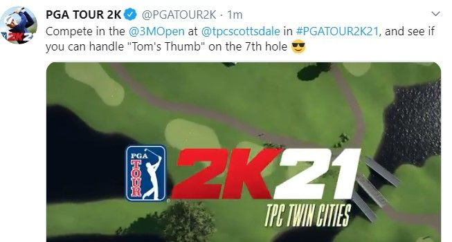PGA Tour 2K21 Twin CIties