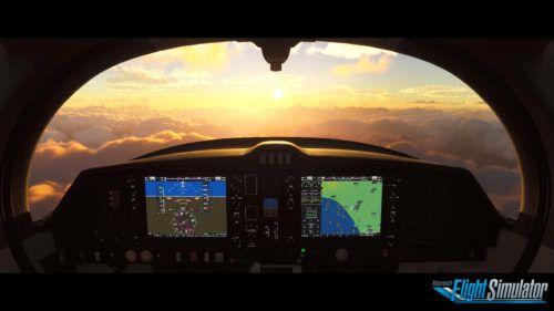 first person flight sim