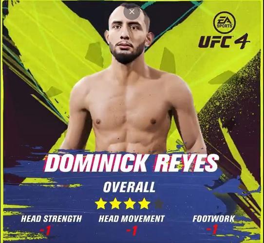 dominick reyes ufc 4 ratings update