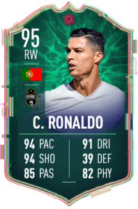 FIFA 20 ultimate team shape shifters Ronaldo