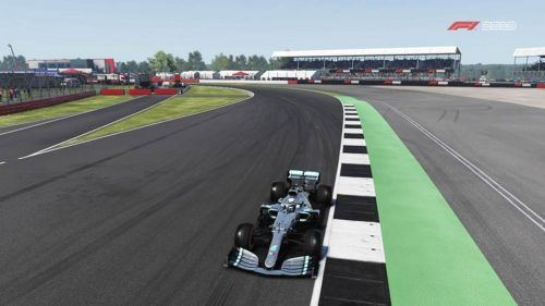 The old turn 1 of Silverstone