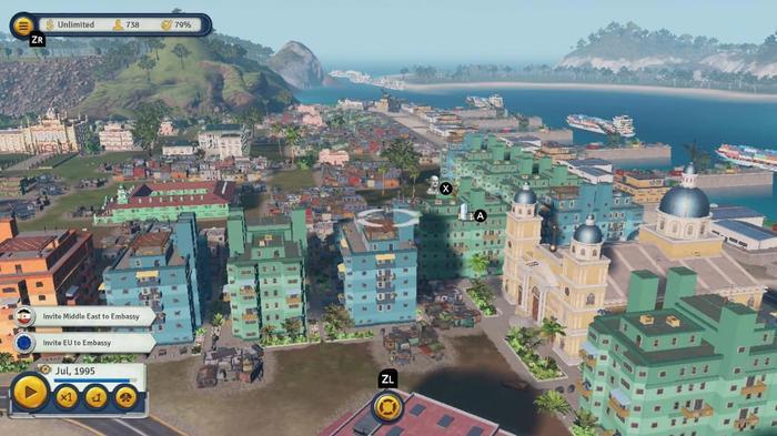 Tropico 6 gameplay