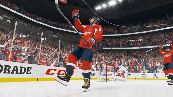 NHL 21 screenshot