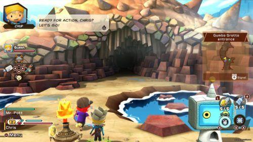snack world gameplay