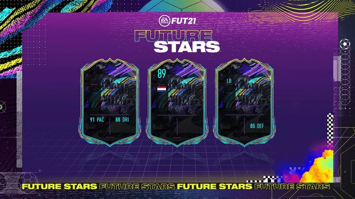 FIFA 21 FUT Future Stars Loading Screen