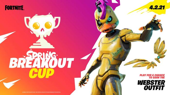 Fortnite Spring Breakout Cup Promo