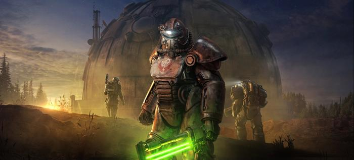 Fallout 76 Steel Reign Steel Dawn Legendary Crafting Power Armor
