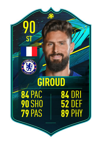olivier giroud fifa 21 ultimate team player moments