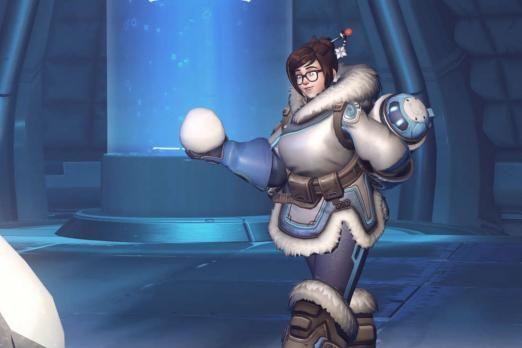 Mei's Snowball Offensive overwatch