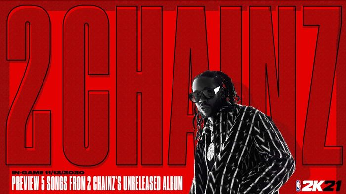 2 Chainz NBA 2K21 min 2
