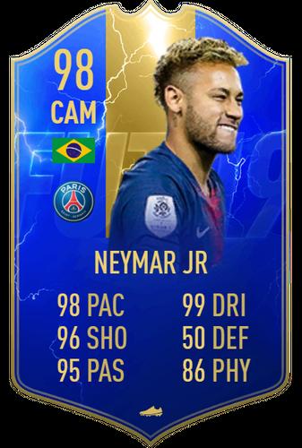 neymar fifa 19 tots