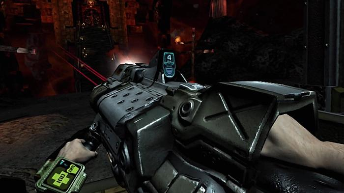 Doom 3 VR Wrist Mounted Display PSVR