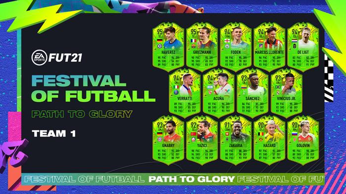fifa 21 festival of futball team 1