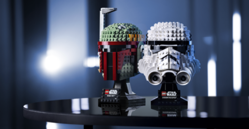 lego star wars helmet sets