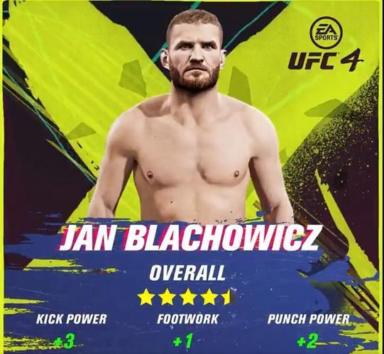 jan blachowicz ufc 4 ratings update
