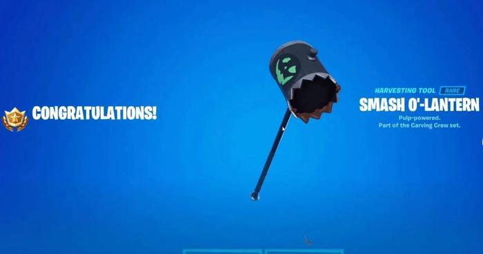 fortnite smah o lantern pickaxe