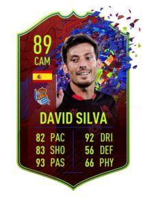 FIFA 21 David Silva RCB 89