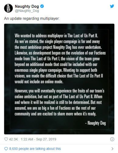 naughty-dog-last-of-us-2-multiplayer-announcement