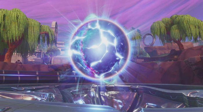 Loot Lake 'Zero Point' Orb breaking apart as Season 10 approaches   Fortnite  INTEL
