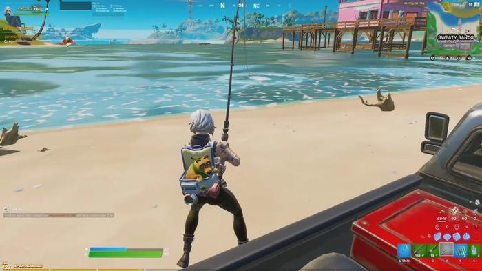 Fortnite Season 5 Week 11 Catch Fish
