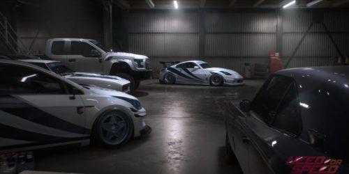 NFS Heat Garage