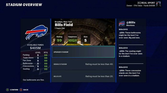 Madden 21 franchise relocation success 1