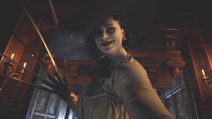 Resident Evil 8 tall lady