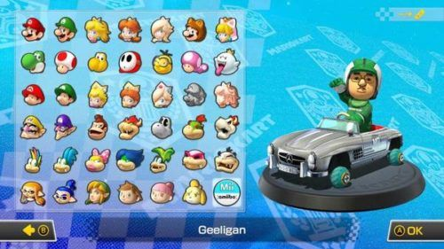 Mario Kart 8 Mii