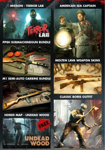 terror lab zombie army 4