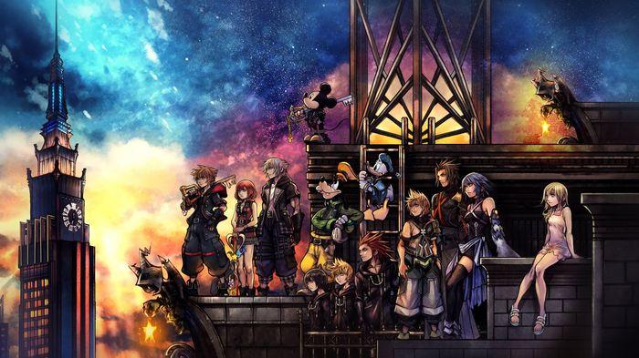Kingdom Hearts e3 2021