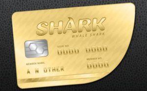 gtaV whale shark card