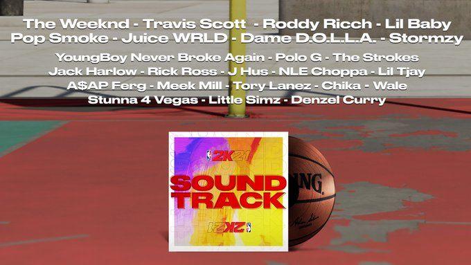 nba 2k21 soundtrack all
