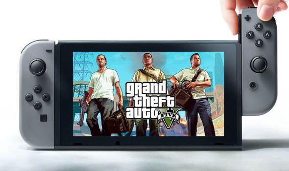 GTA Online Nintendo Switch Fake