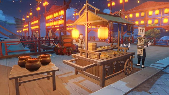 Genshin Impact 1.3 Update Lantern Rites Lantern Stall