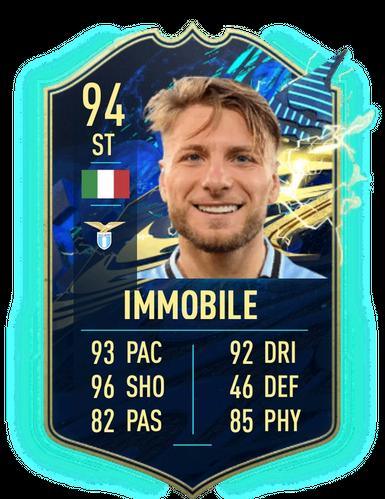 TOTS SBC Ciro Immobile item in FIFA 21