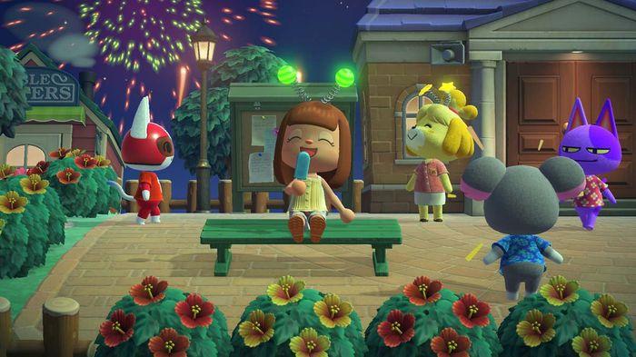 Animal Crossing Free July 29 Update Popsicle