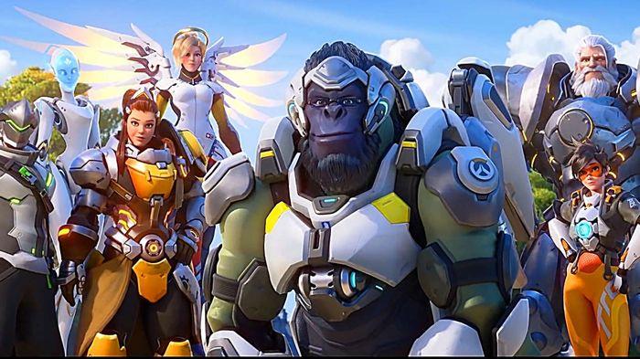 Overwatch Heroes Key Art Promo