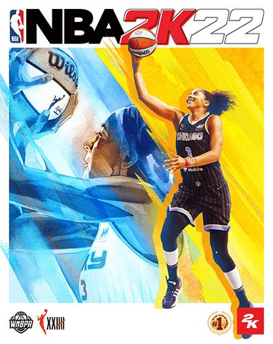 NBA 2K22 cover chicago sky wnba candace parker