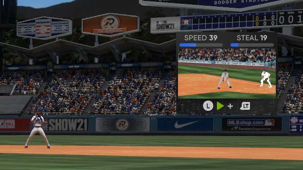 MLB The Show 21 Baserunning Guide Controls Tips Tricks Steal Bases Slide RTTS Road to the Show