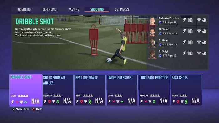 fifa 21 career mode training days 2