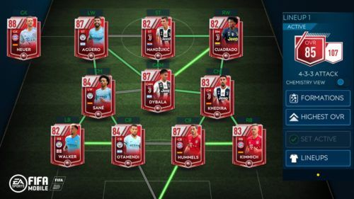 FIFA Mobile Ultimate Team