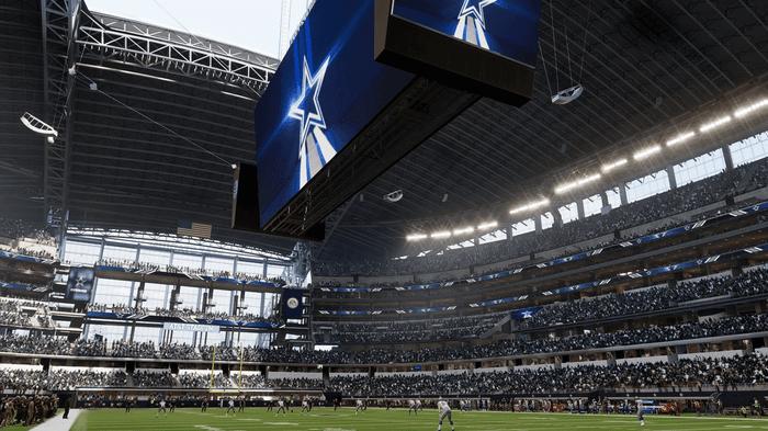 Madden 22 home field advantages advantage dynamic gameday cowboys jumbo tron jumbotron