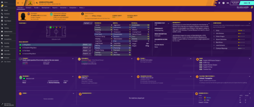 Kitolano's starting Football Manager 2020 attributes and information.