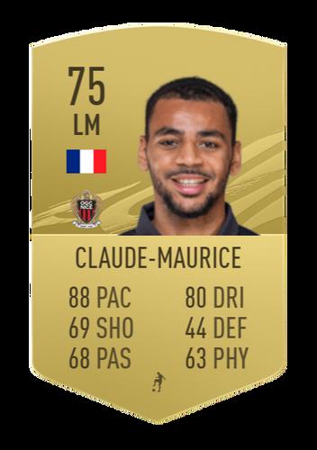 alexis claude-maurice fifa 21 ultimate team