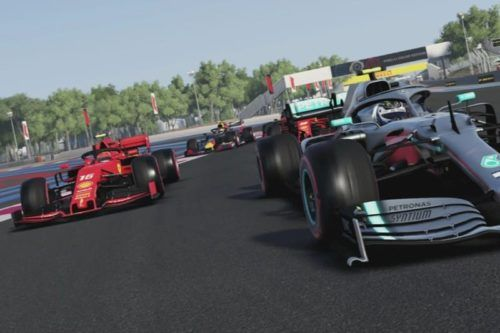Wheel-to-wheel action in F1 2019