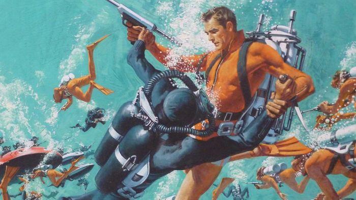 GTA Online Summer DLC Thunderball 007 Bond Scuba fight