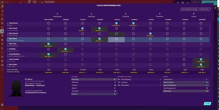 fm21 new features coaching assignments