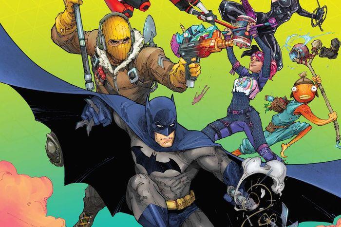 Fortnite x batman zero point comic