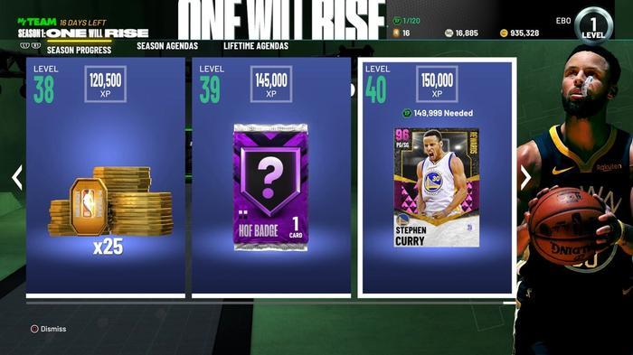 NBA 2K21 MyTeam Seasons